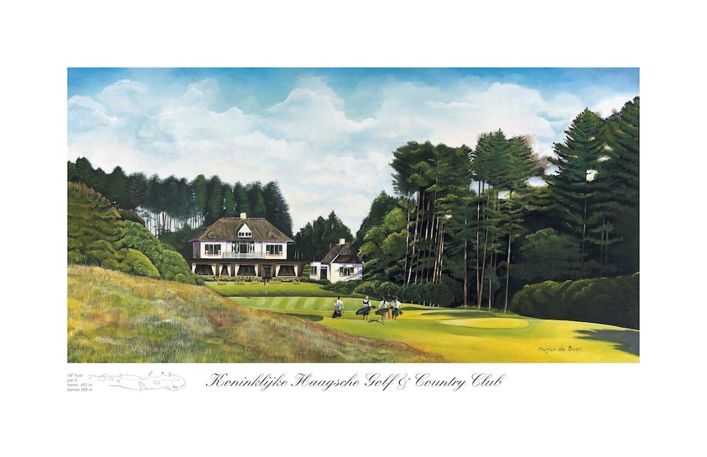 Marjan de Boer Golf & Paint: Reproductions